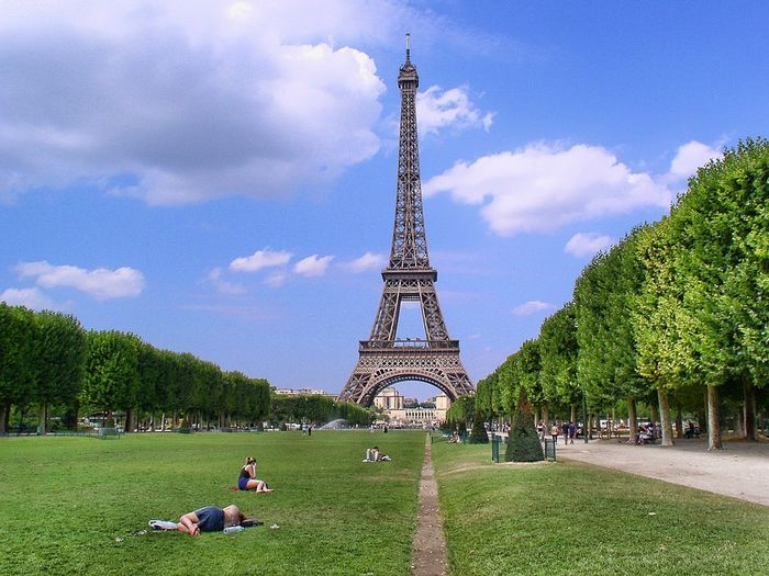 naj zabytek paryża