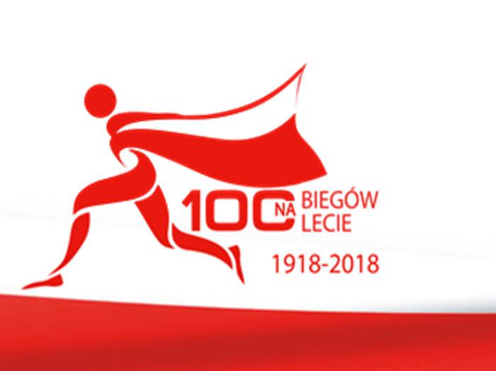 logo do akcji 100 biegów