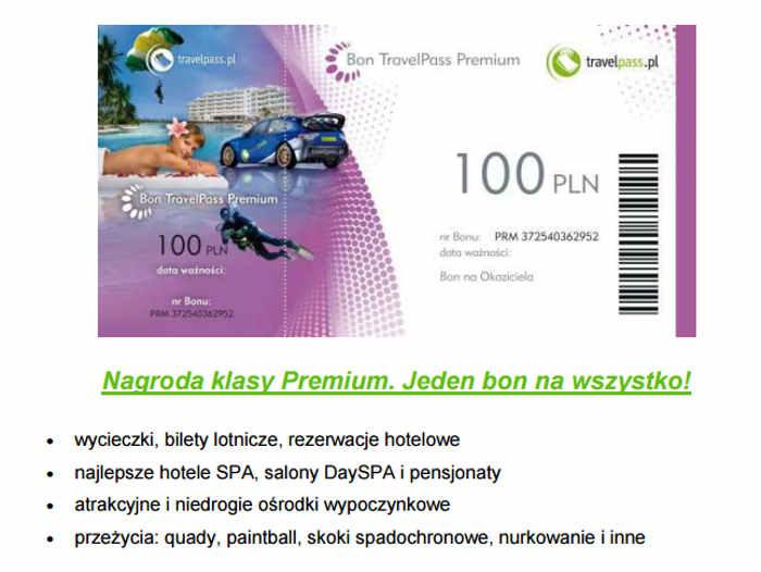 reklamówka bonu travelpass