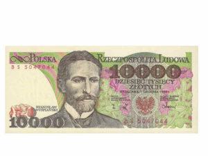banknot z przed denominacji