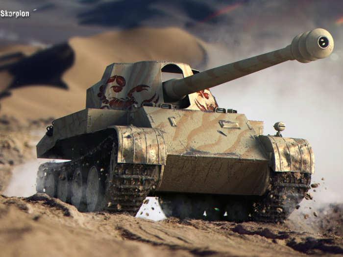 pojazd z gry czołg