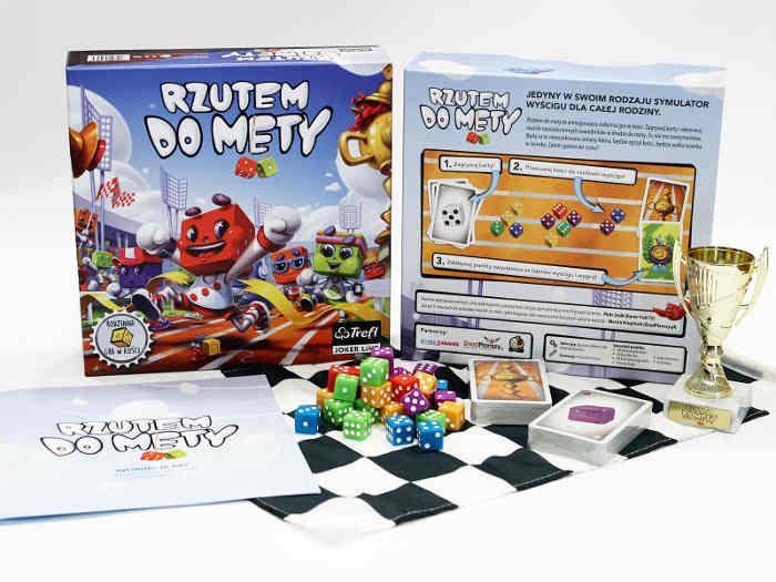 pudełko i zawartość gry