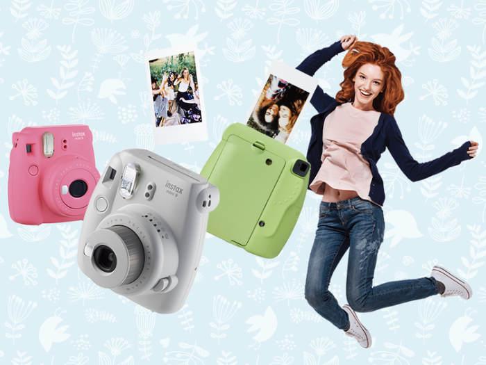aparat w różnych kolorach