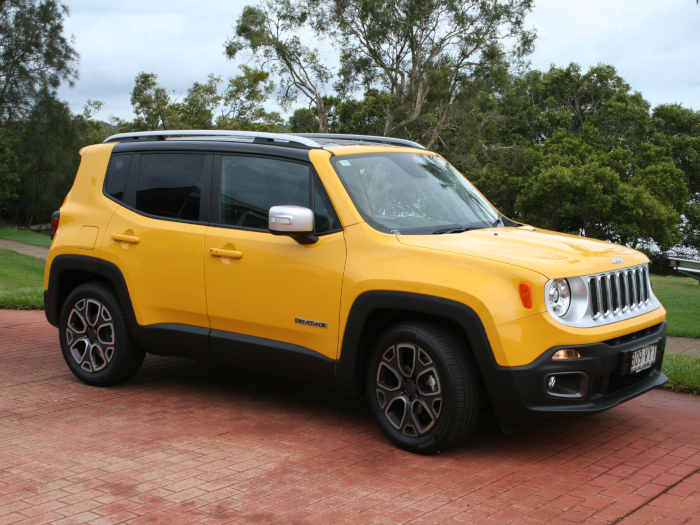 Jeep kolor SOLAR YELLOW