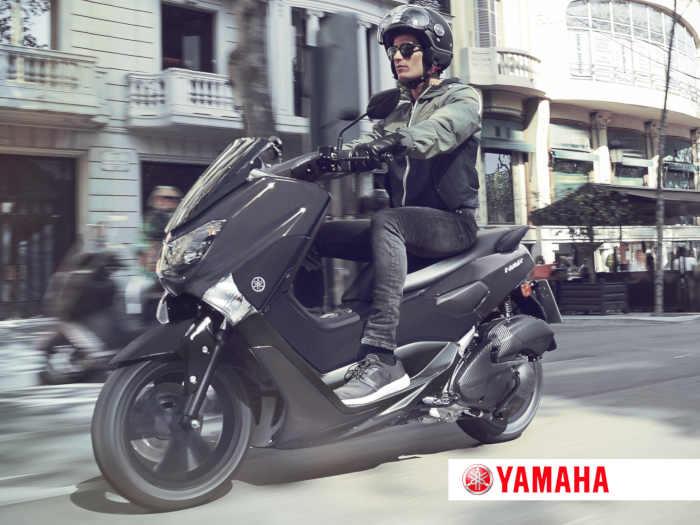 skuter w ruchu miejskim