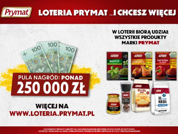 plakat loterii
