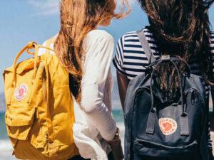 dwa plecaki
