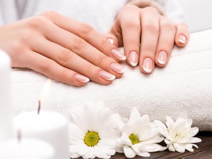 ręce i kwiatki