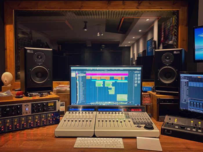 centralka studia nagrań