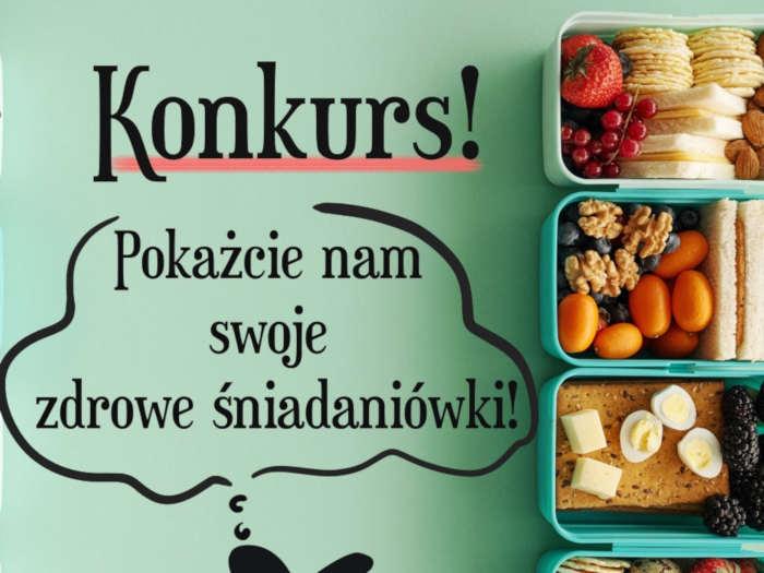 produkty śniadaniowe i napisy