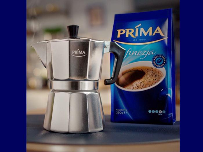 kawiarka i kawa